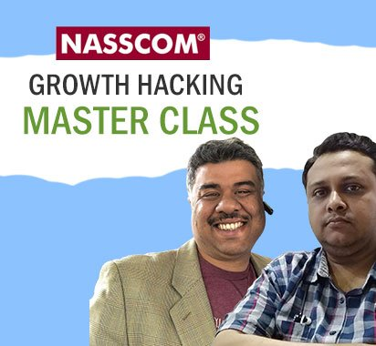 Mitul and Amitava - Nasscom Growthhacking masterclass
